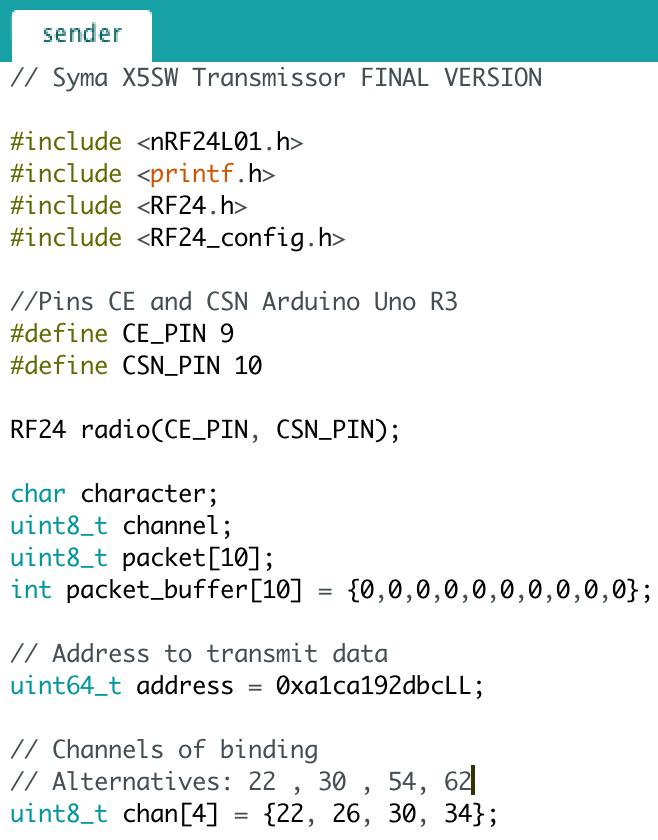 Sender-Arduino